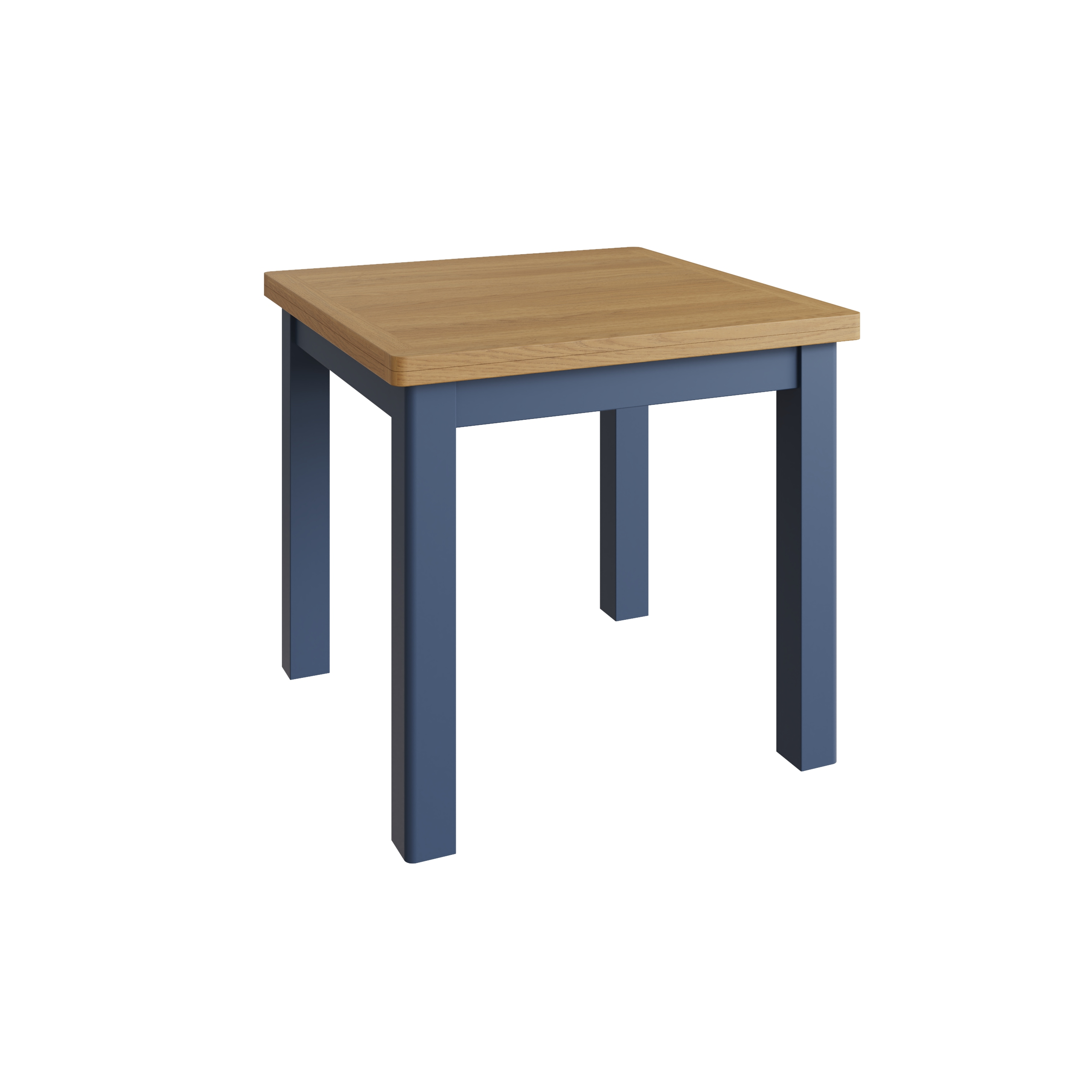 RAYWELL Painted Fixed Top Table (Blue)