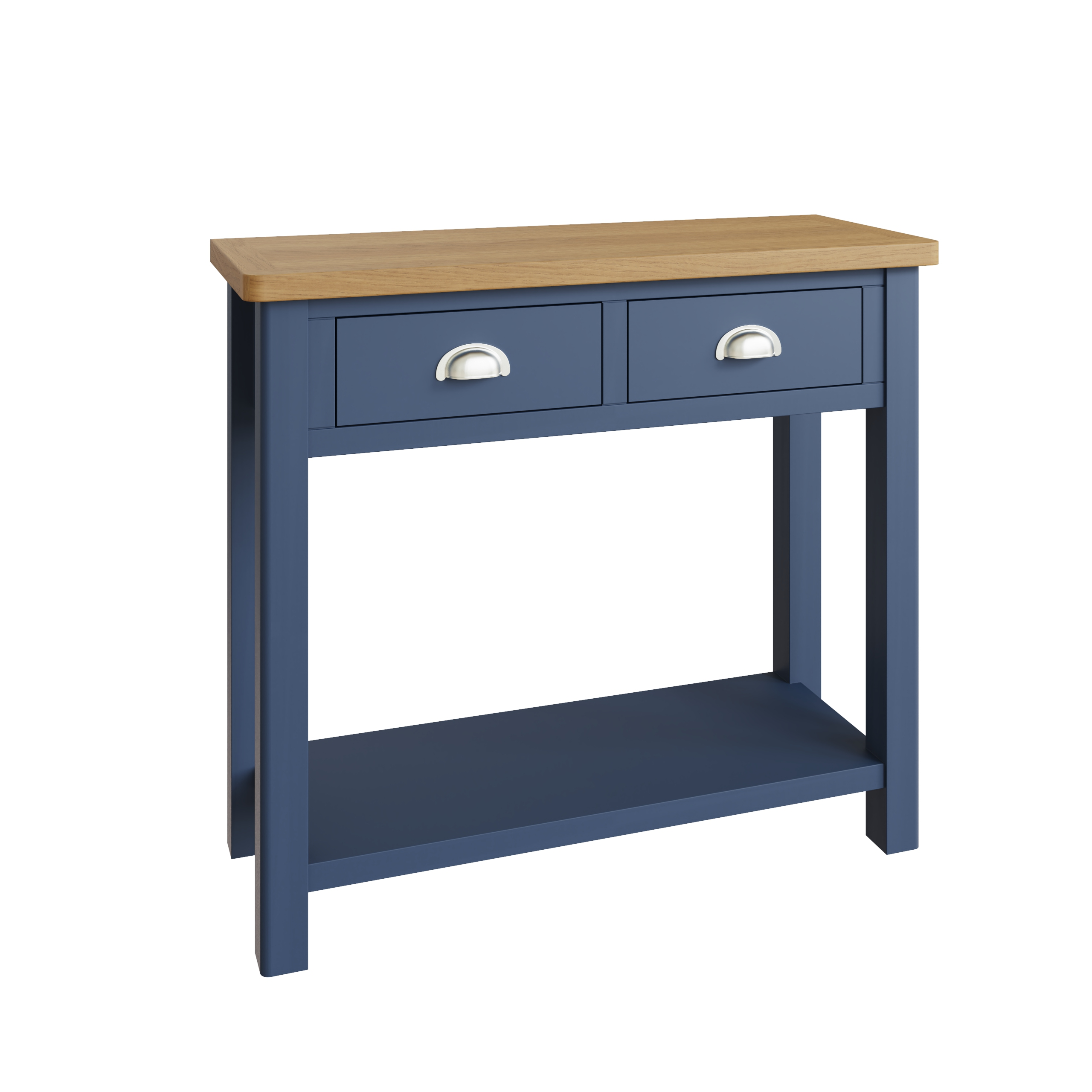 RAYWELL Painted Console Table (Blue)