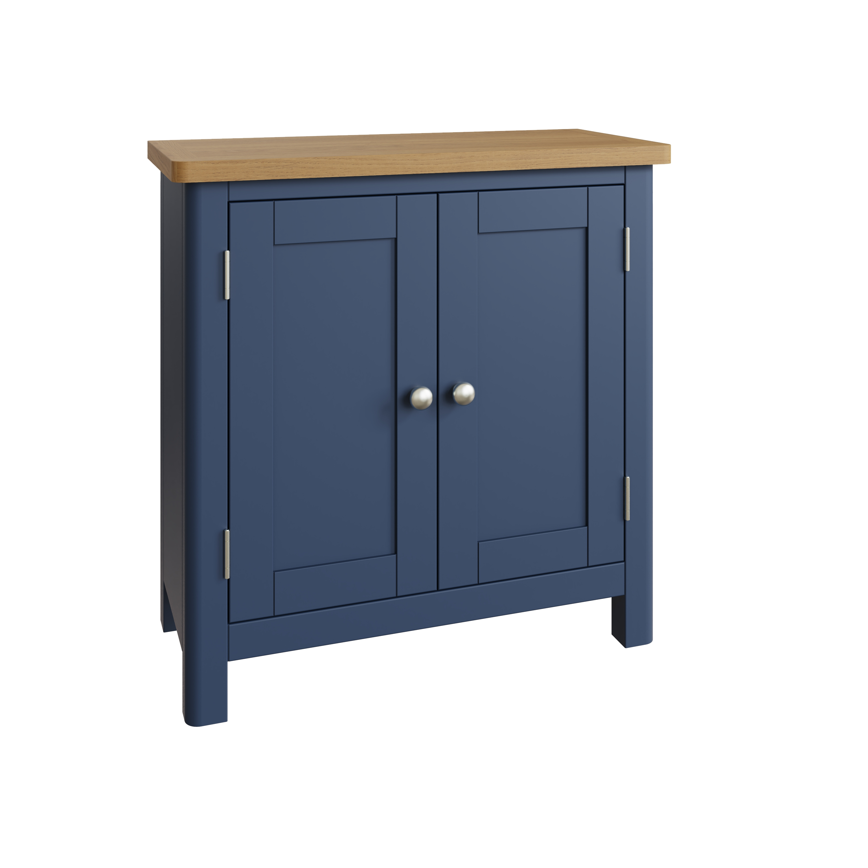 RAYWELL Painted Small Sideboard (Blue)