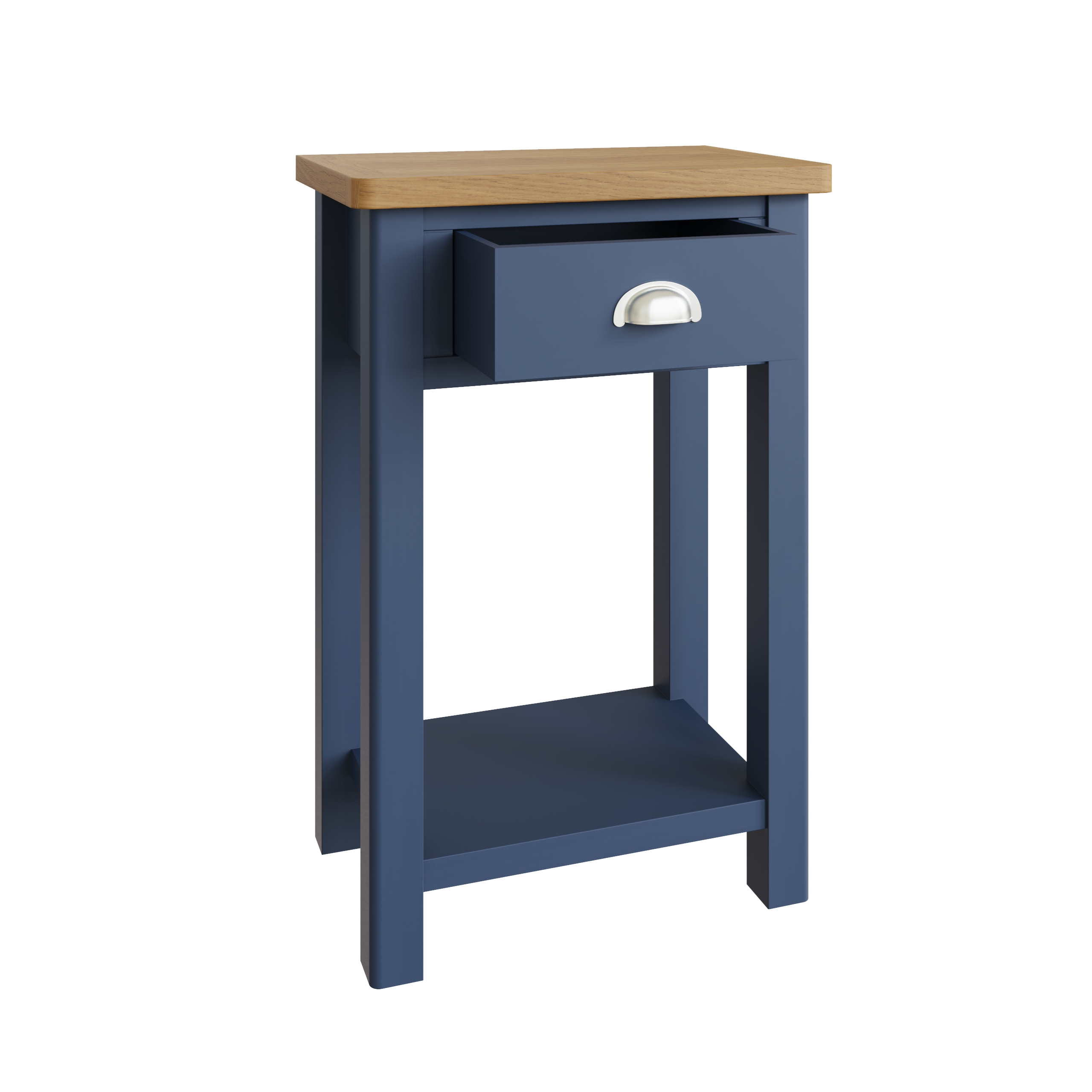 RAYWELL PAINTED Telephone Table (Blue)