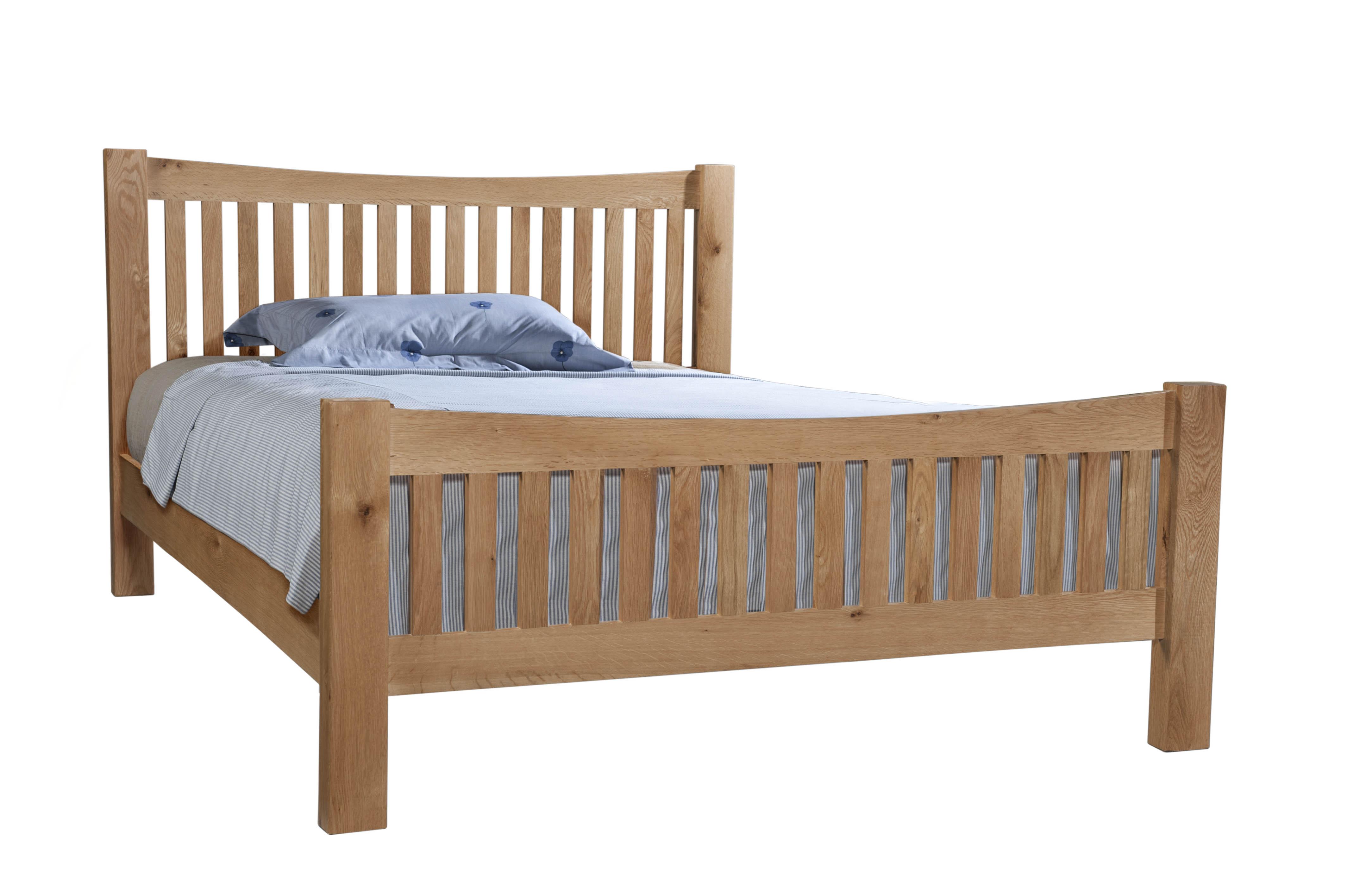 DORCHESTER OAK 5' Slatted Bed