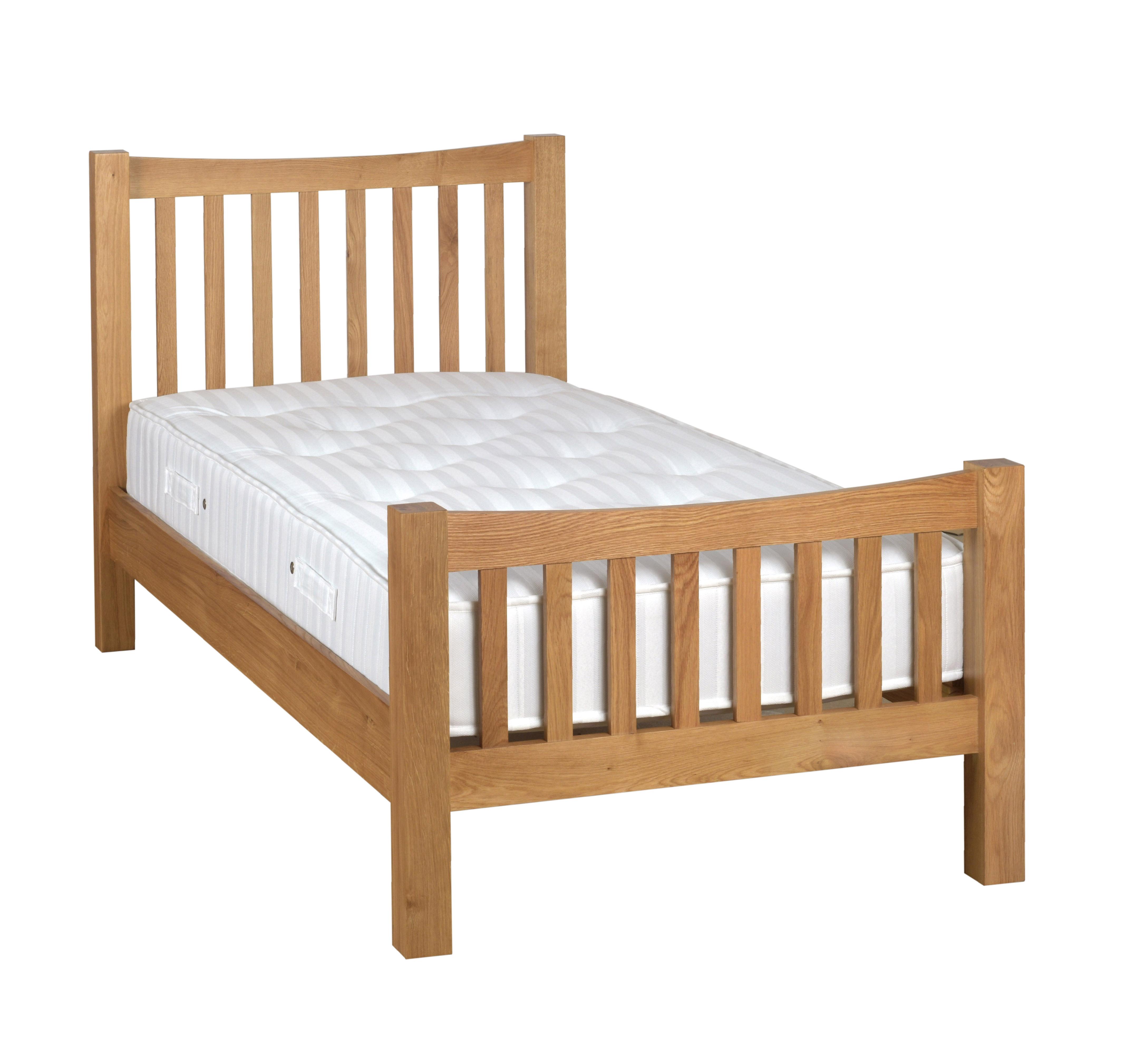 DORCHESTER OAK 3' Slatted Bed