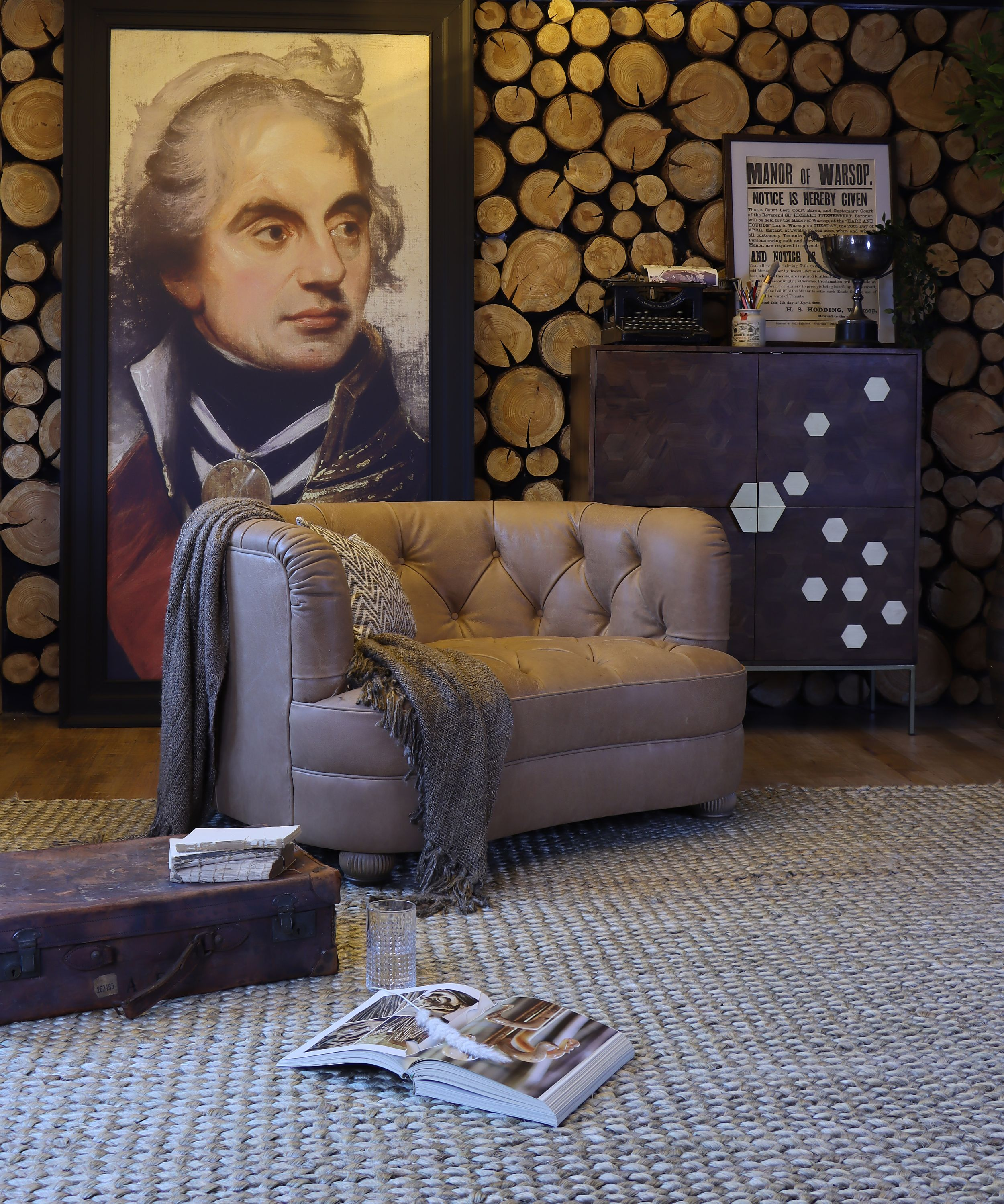 TETRAD - Strand Snuggler Chair