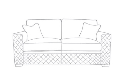 Bessie 3 Seater Sofa