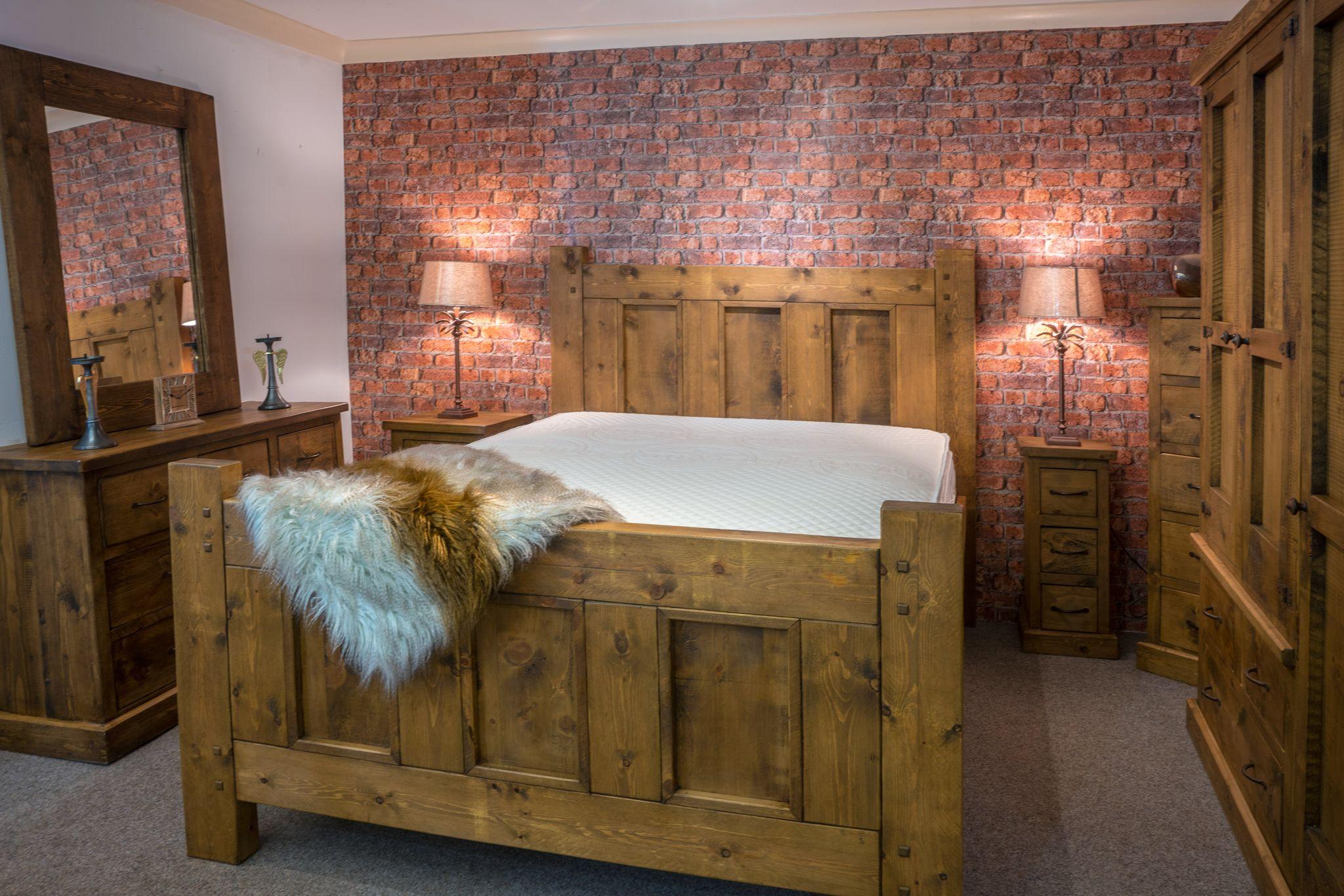 Alexander Ellis - Rustic Panel Bedroom