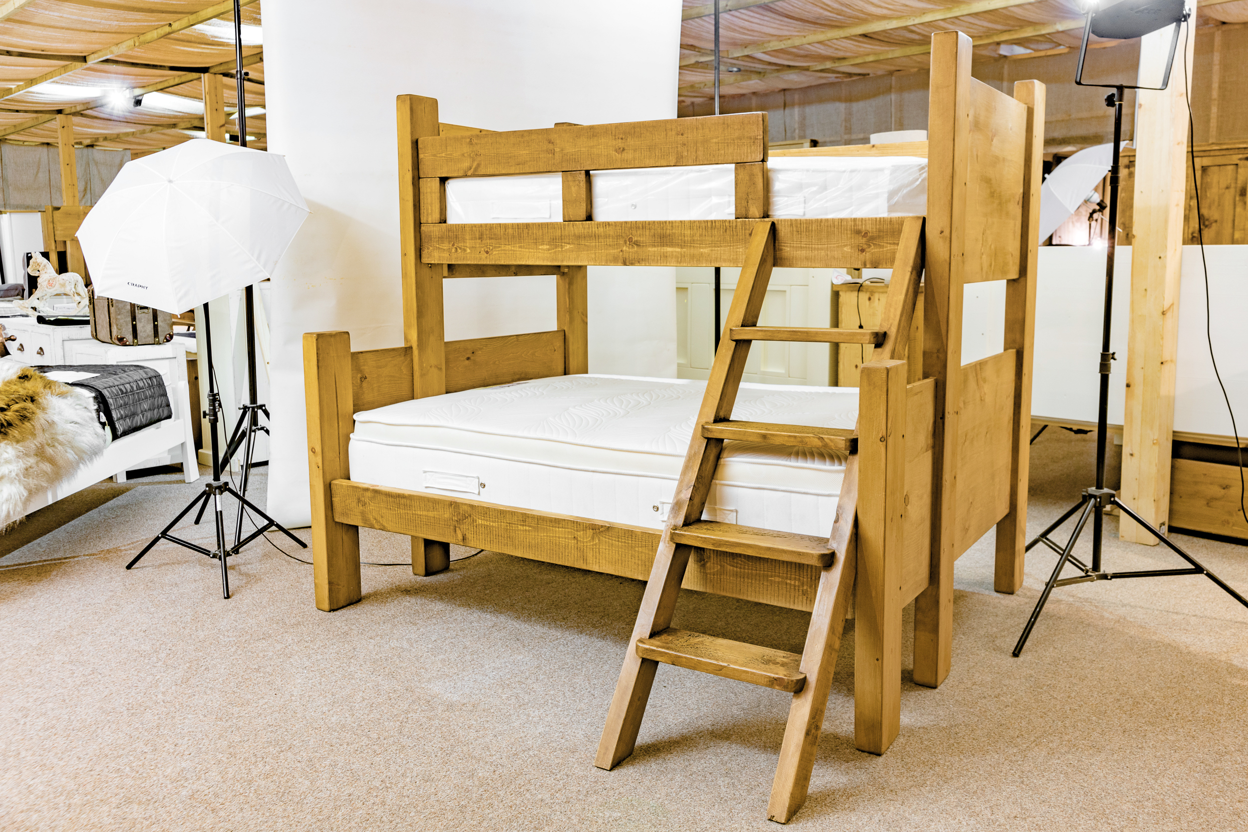 Alexander Ellis - Rustic Bedroom