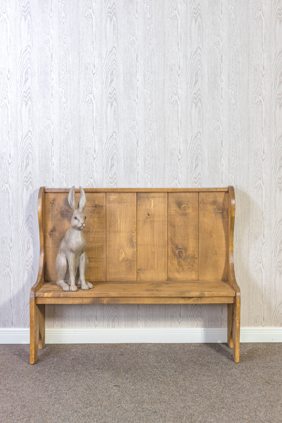 RUSTIC Pew Bench - Without Storage