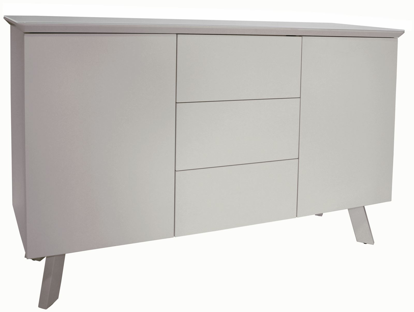 CONTEMPORARY Large Sideboard - Cappuccino