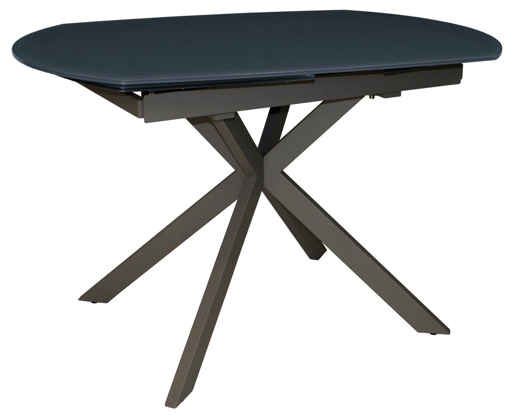 CONTEMPORARY Motion Extending Dining Table - Grey