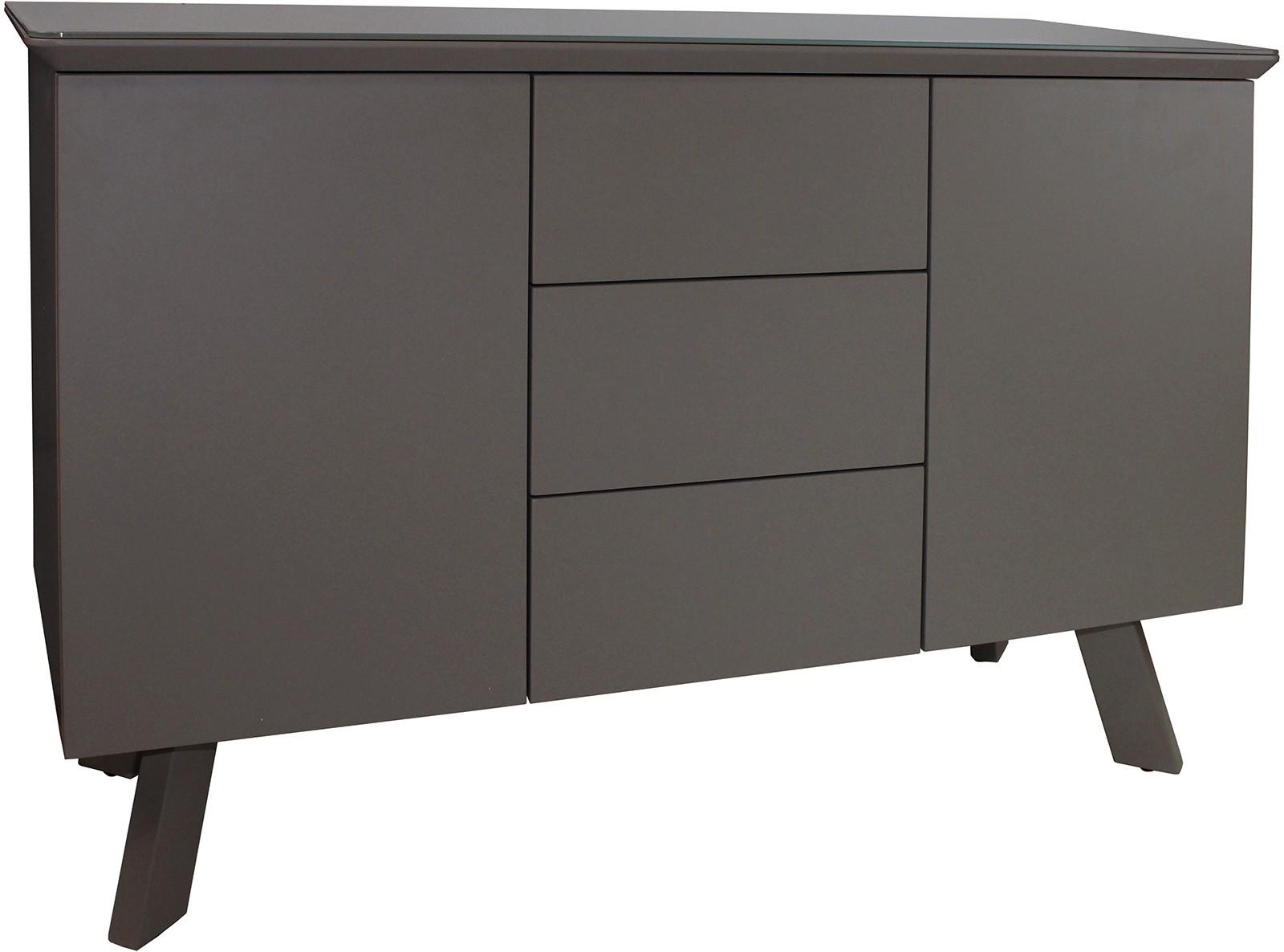 CONTEMPORARY Small Sideboard - Grey