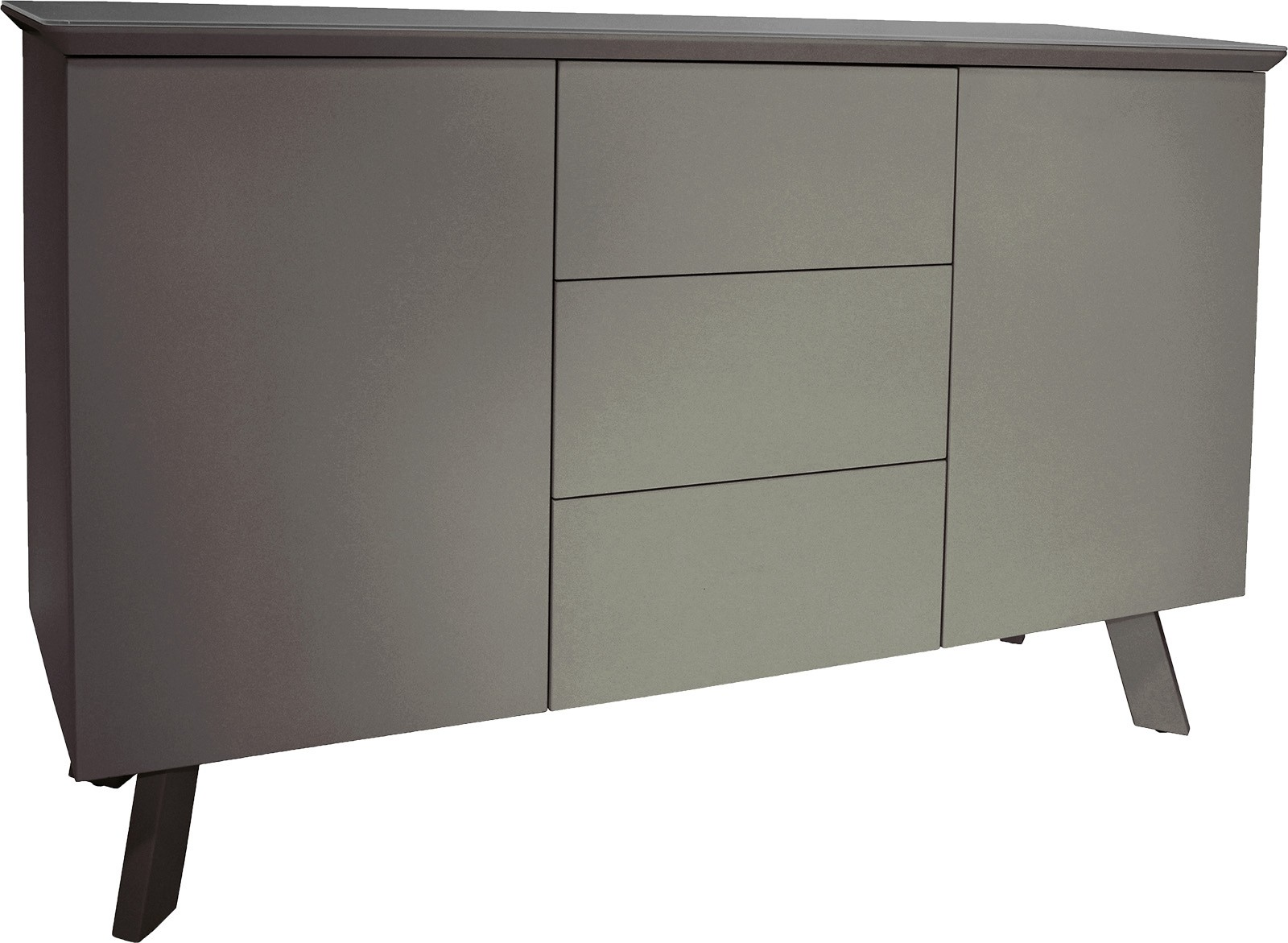 CONTEMPORARY Large Sideboard - Grey