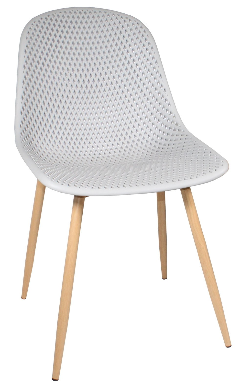 CONTEMPORARY Dining Chair - Light Grey