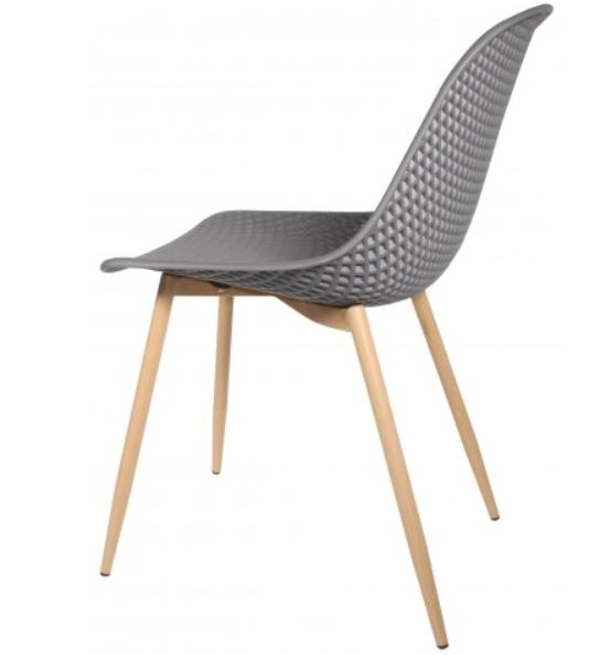 CONTEMPORARY Dining Chair - Dark Grey