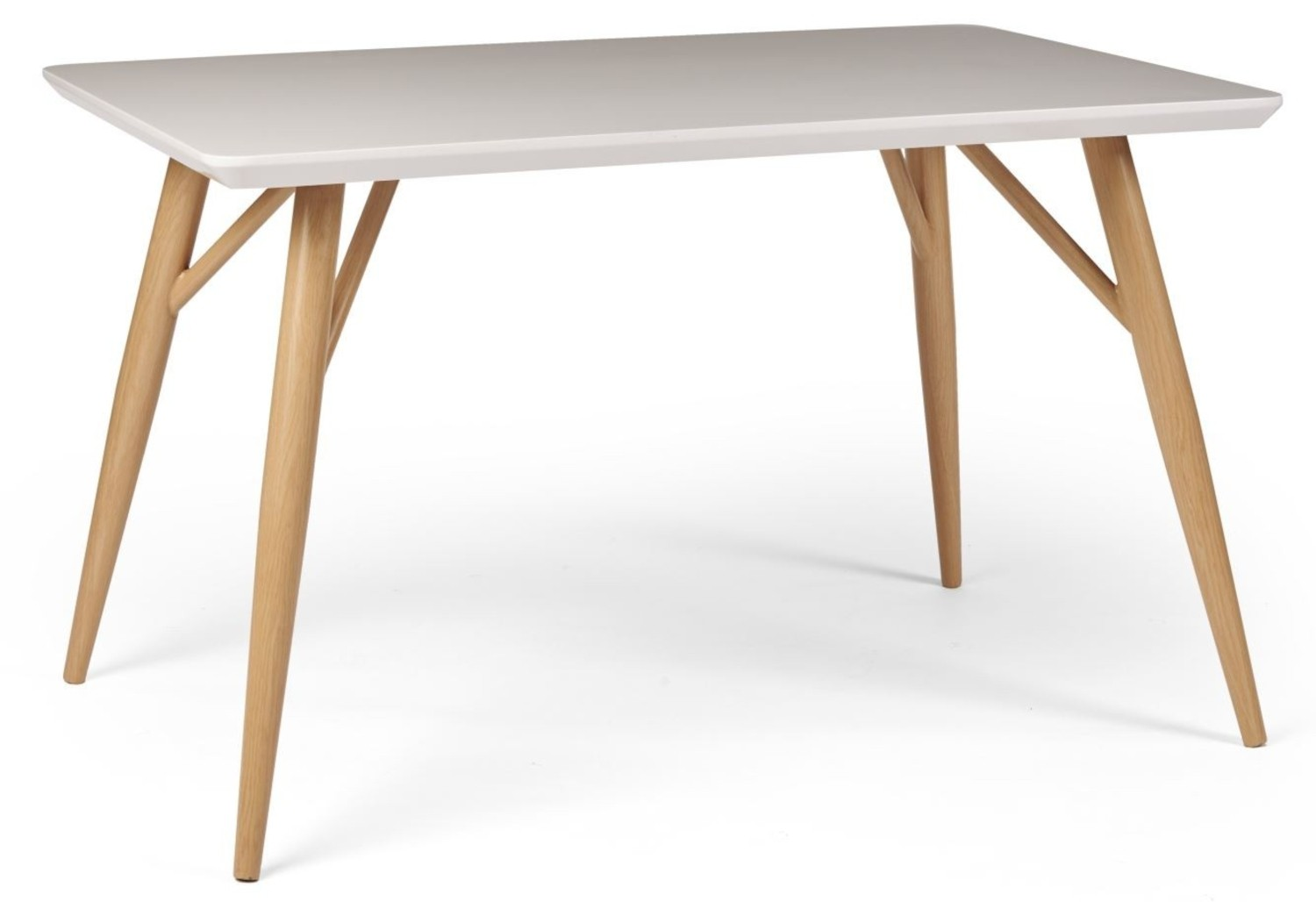 CONTEMPORARY Rectangular Dining Table - White