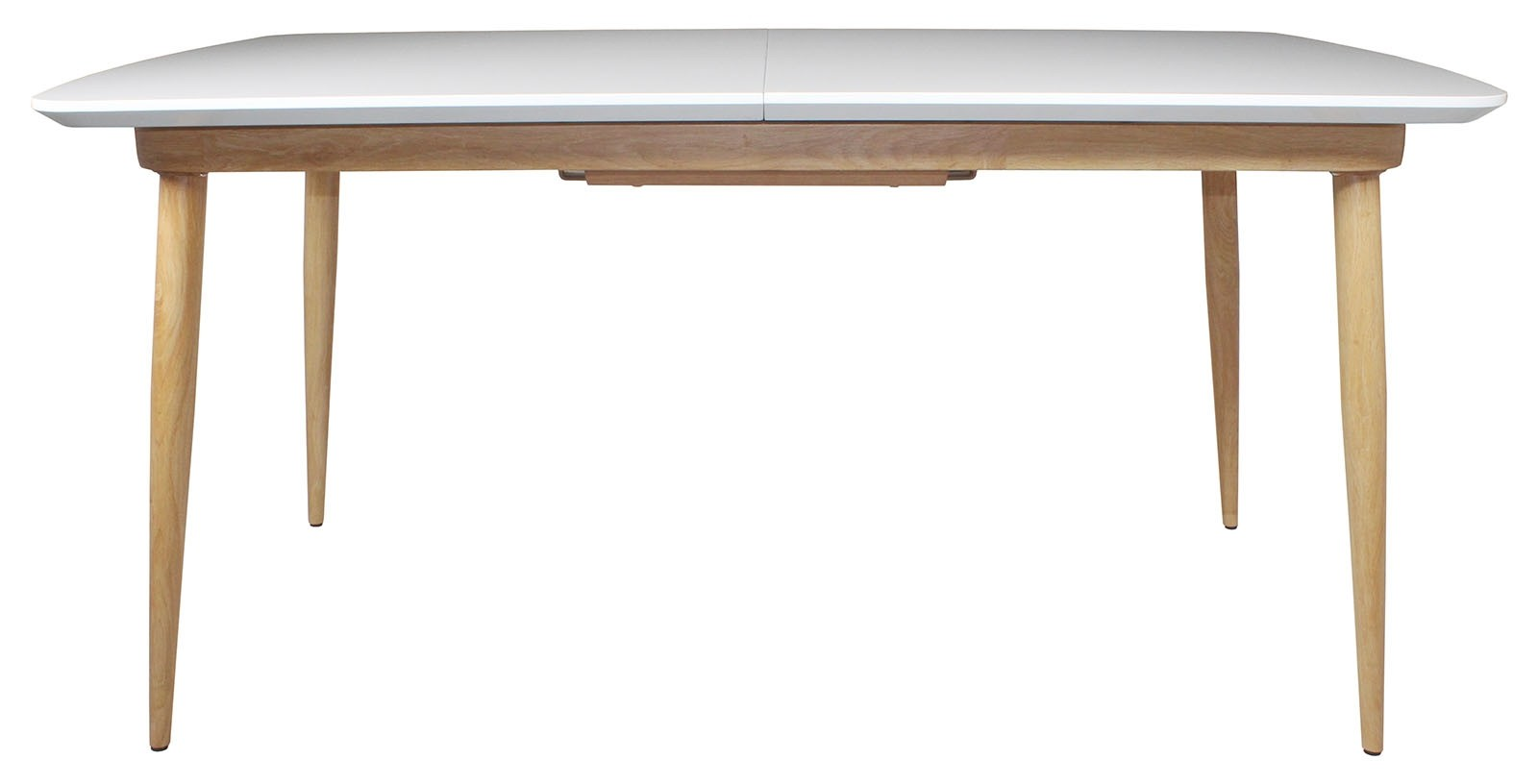 CONTEMPORARY Large Extending Dining Table - White