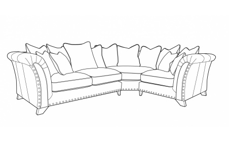 WESTMINSTER Pillow Back Corner Sofa - LH2/COR/RH1