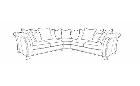 WESTMINSTER Pillow Back Corner Sofa - LH2/COR/RH2