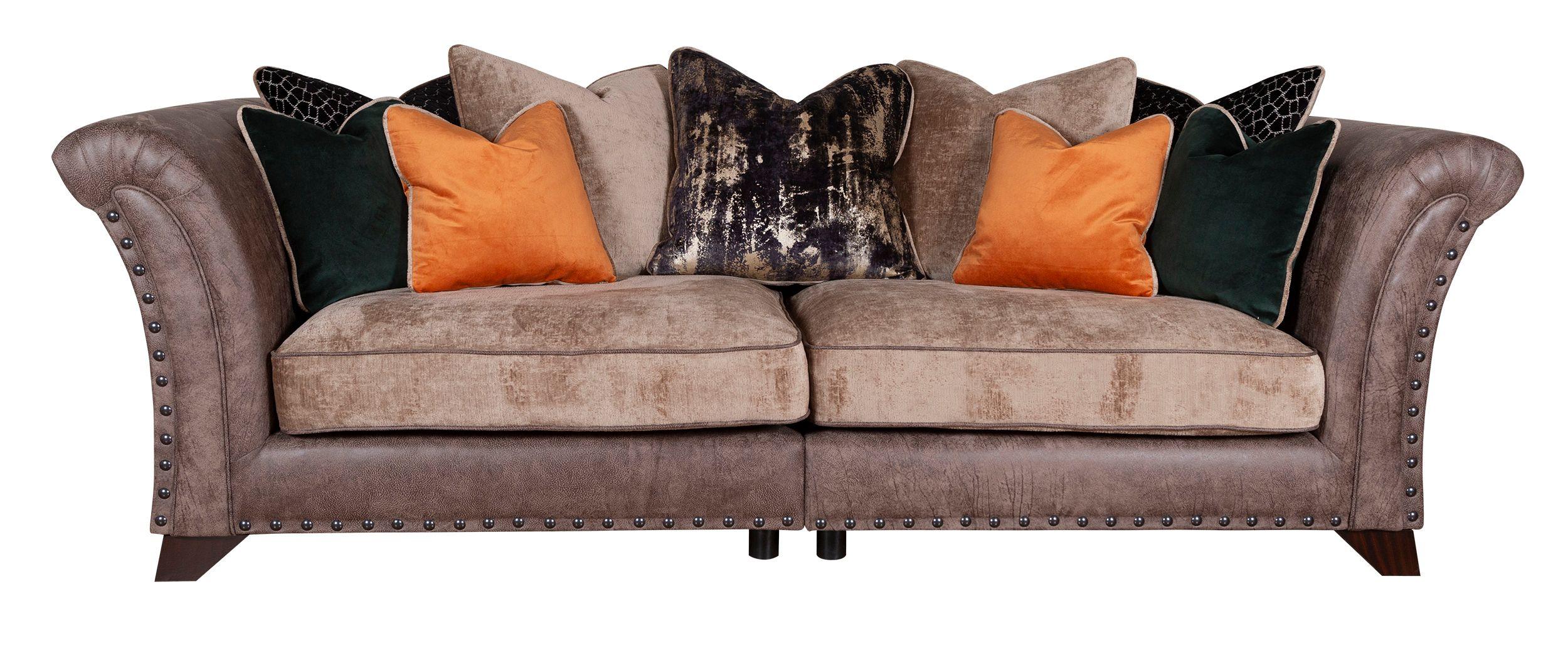 WESTMINSTER Pillow Back 4 Seater Modular Sofa