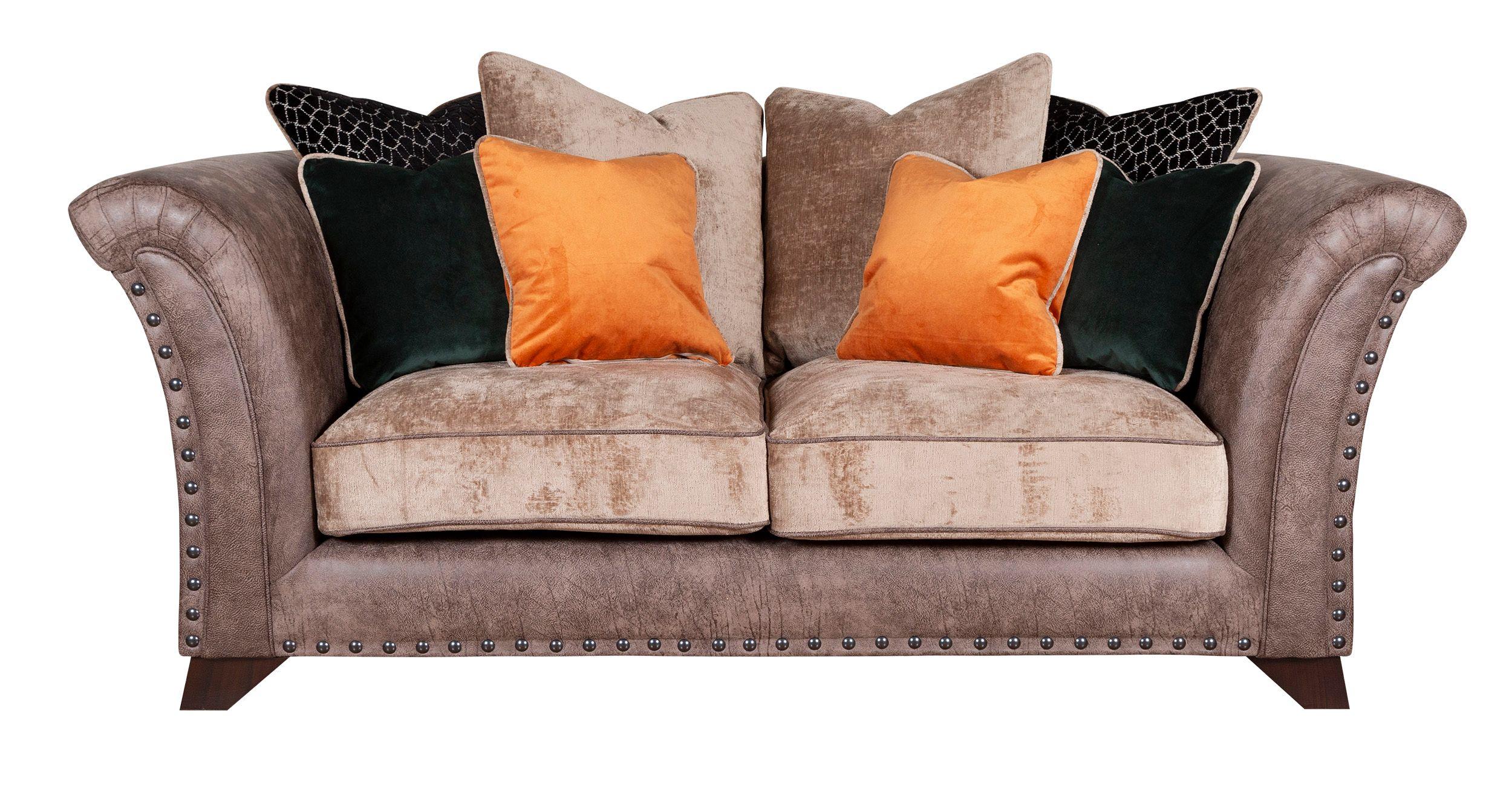 WESTMINSTER Pillow Back 2 Seater Modular Sofa