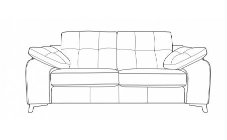 BILBAO 2 Seater Sofa