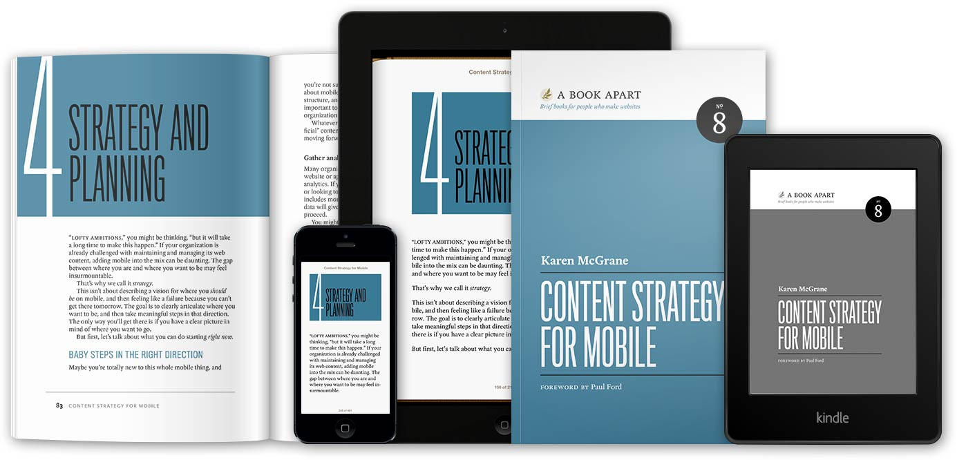Content Strategy for Mobile purchase page.