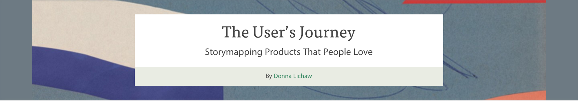 The User's Journey purchase page.