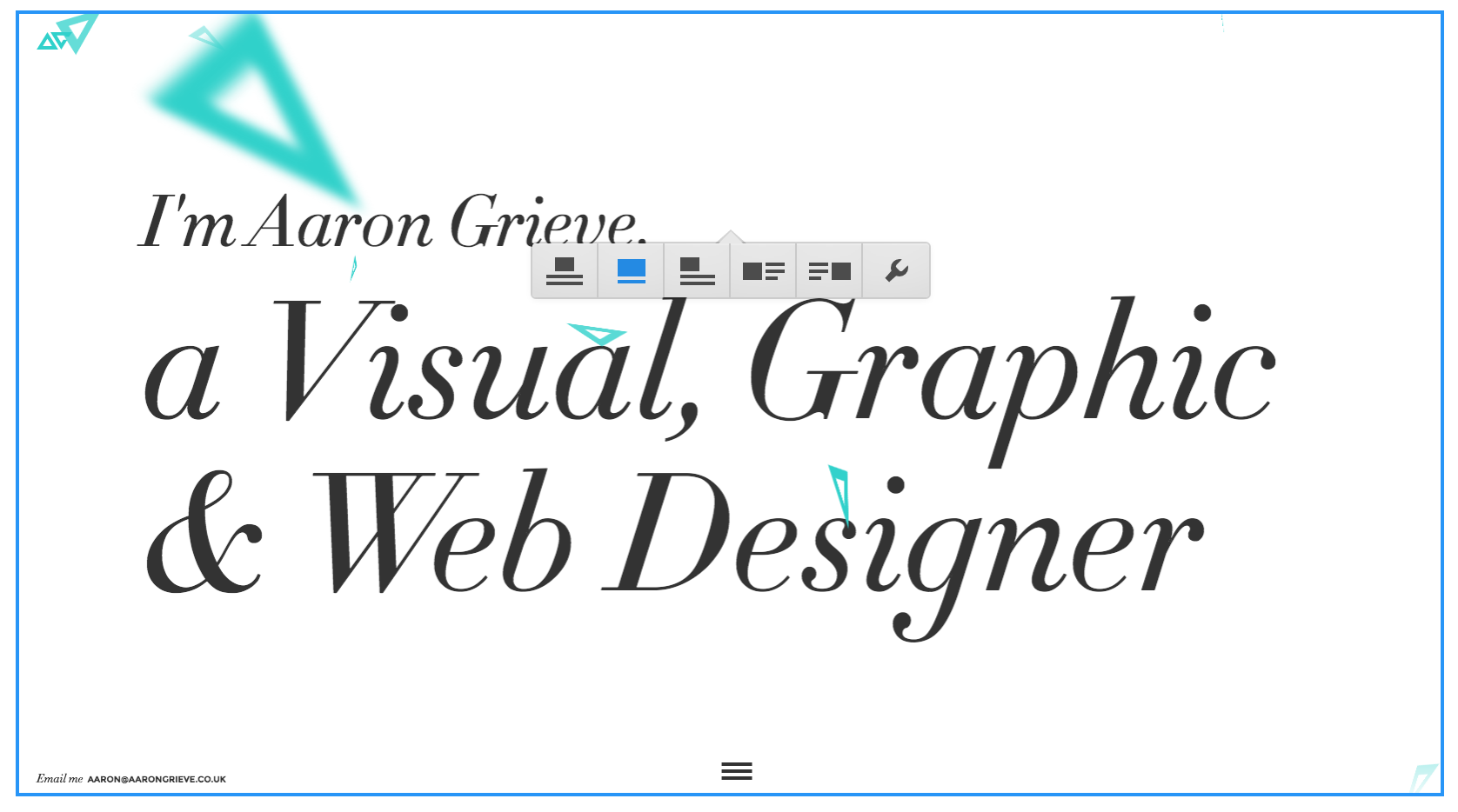Image options in the Webflow Editor