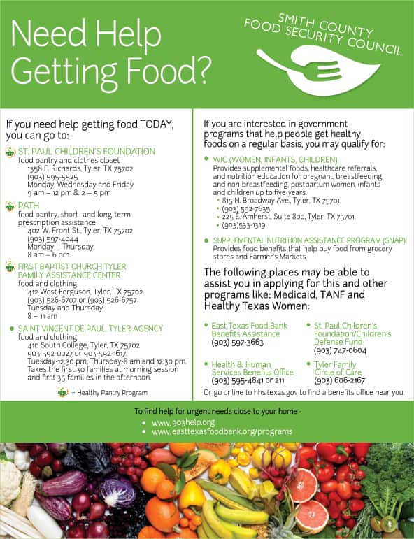 Smith County Food Help Download