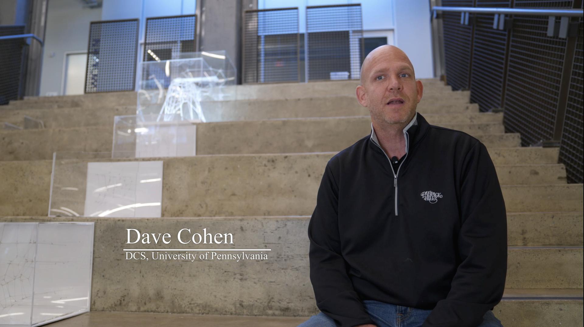David Cohen of UPenn
