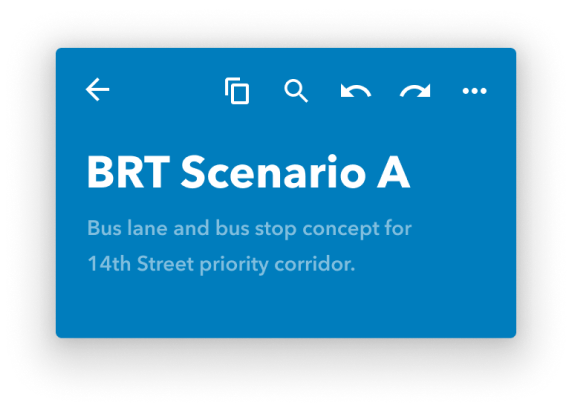 BRT scenario a