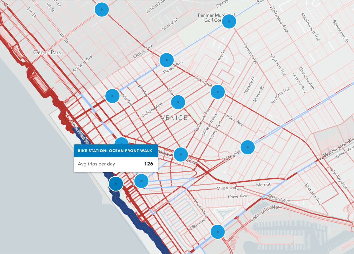 Understand the impact of shared mobility modes   Remix