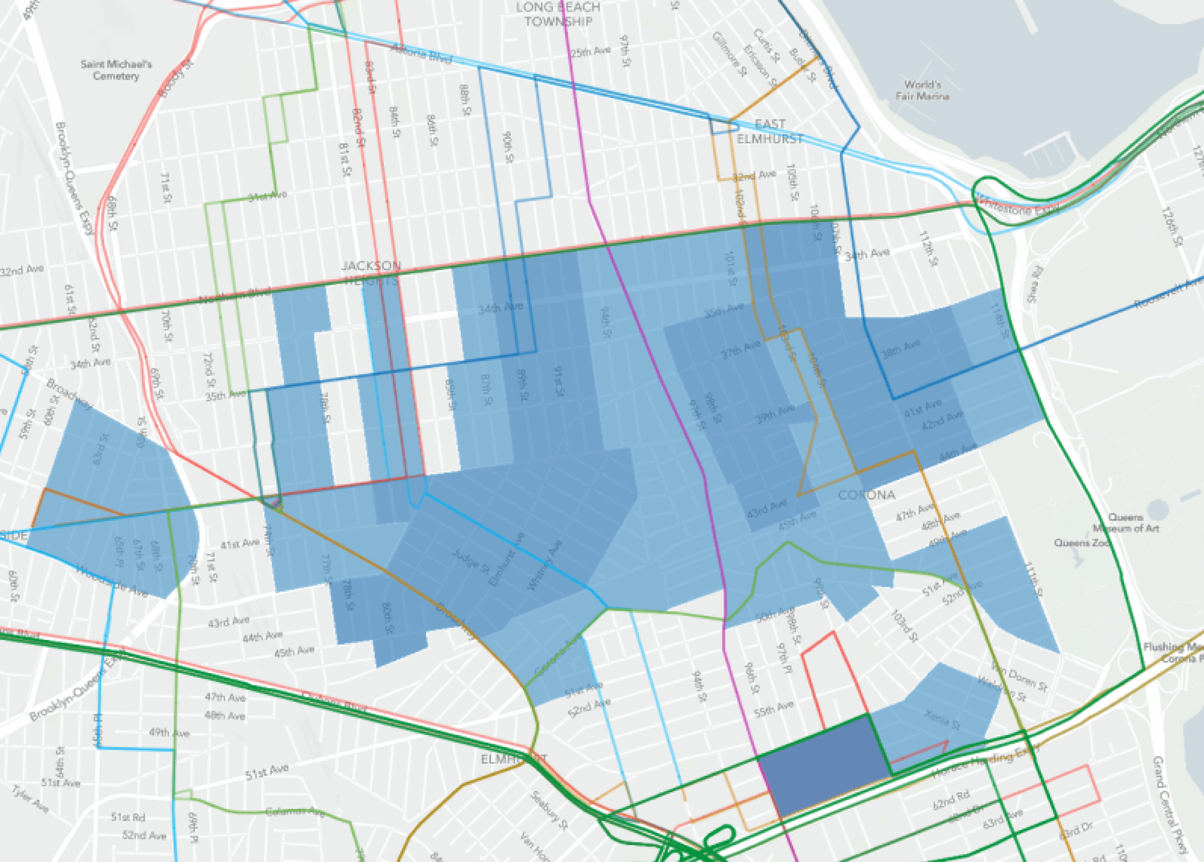 Curate map