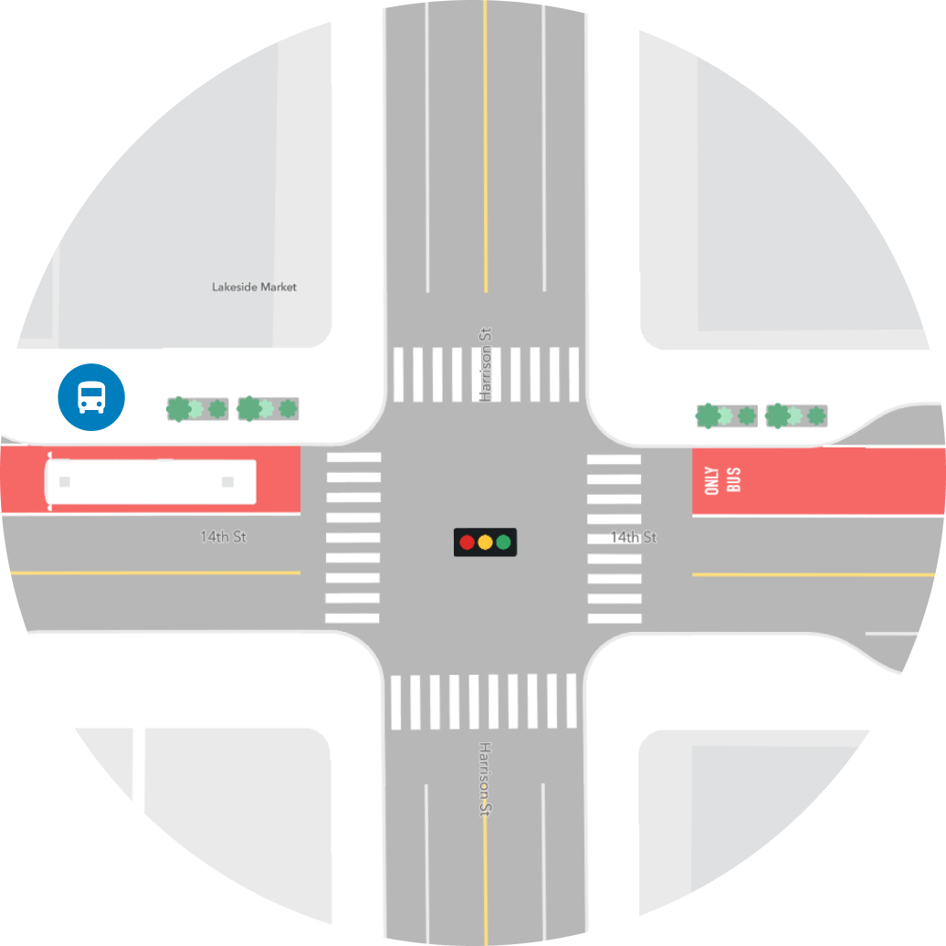 map of intersection