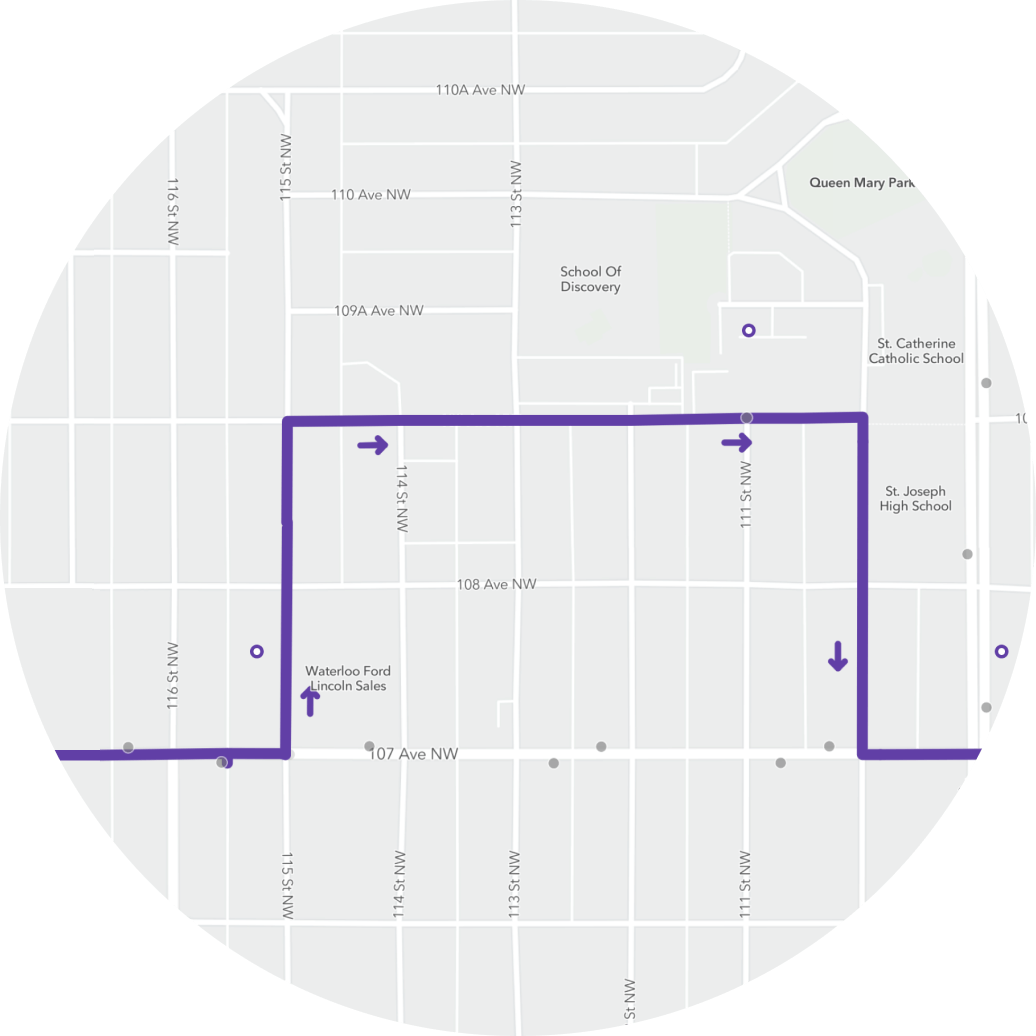 transit bus route