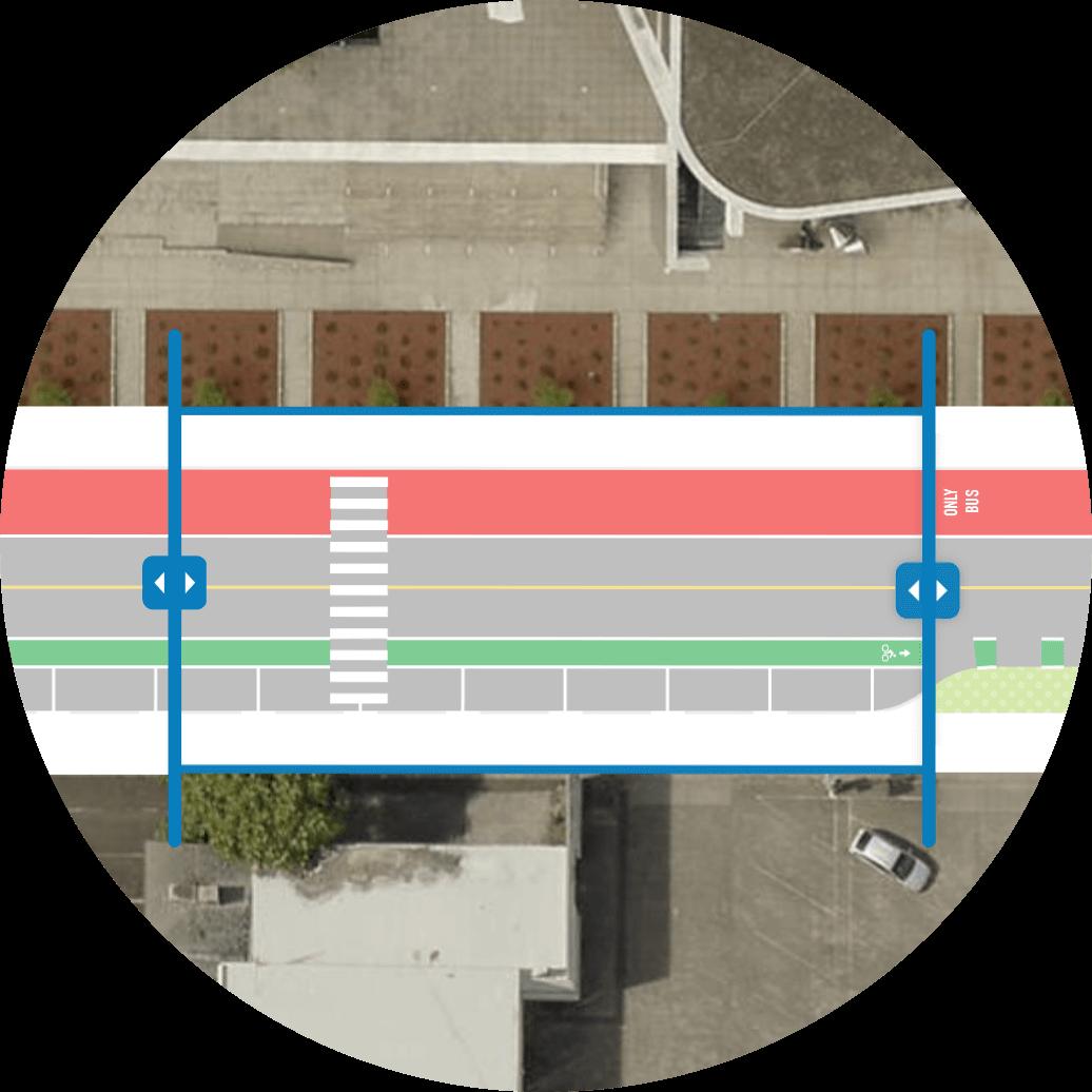 street editing map