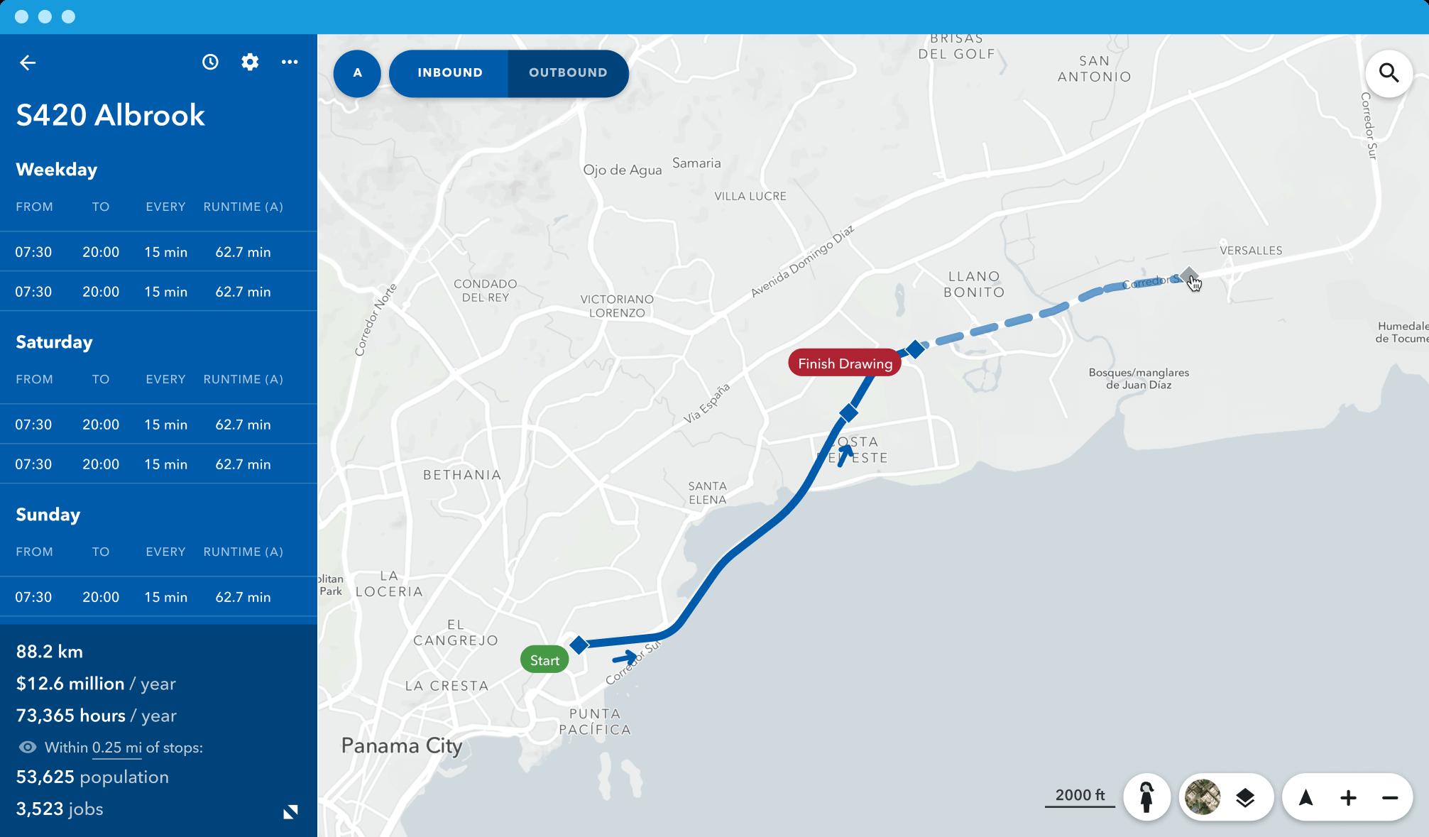 Transit solution