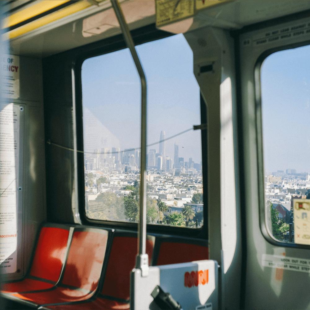 SFMTA bus interior
