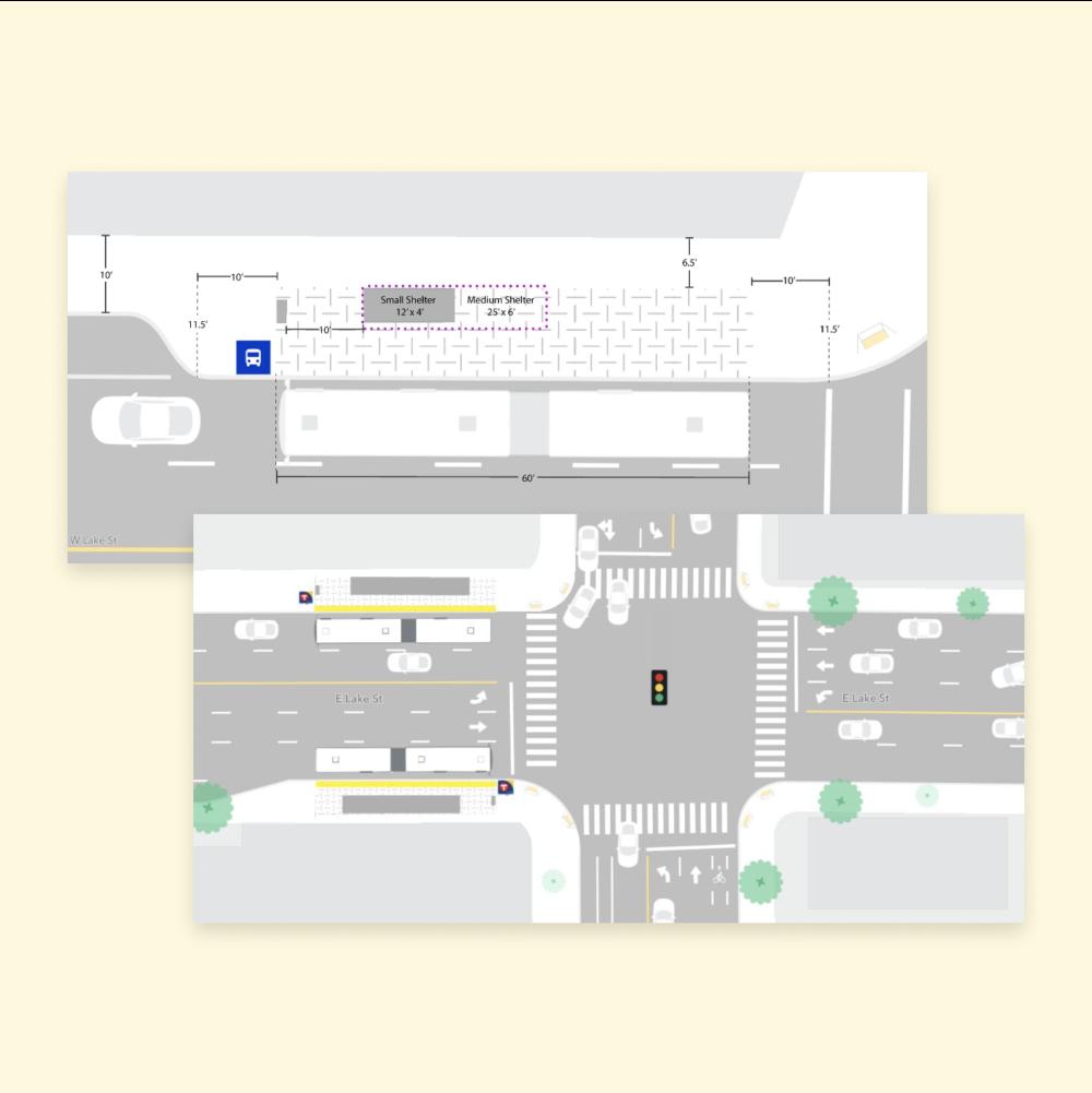 Metro Transit streets screenshot