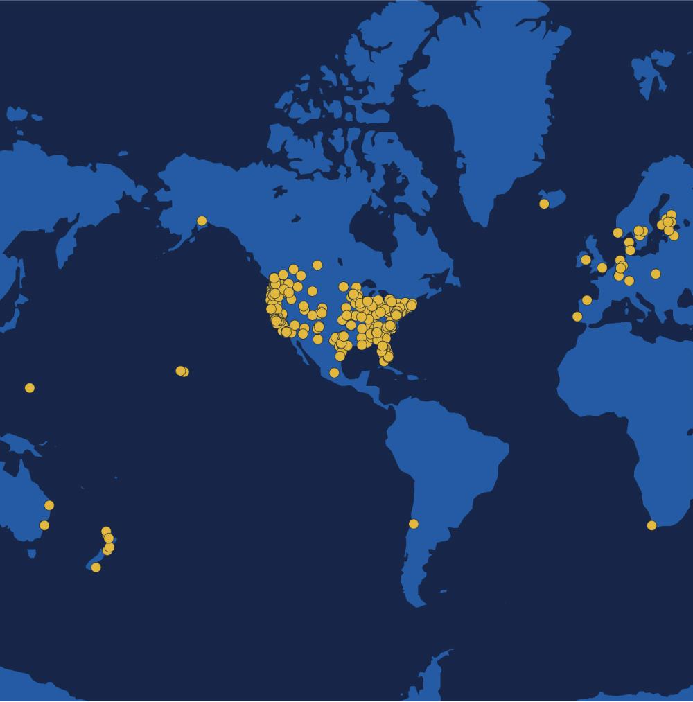Remix customer map