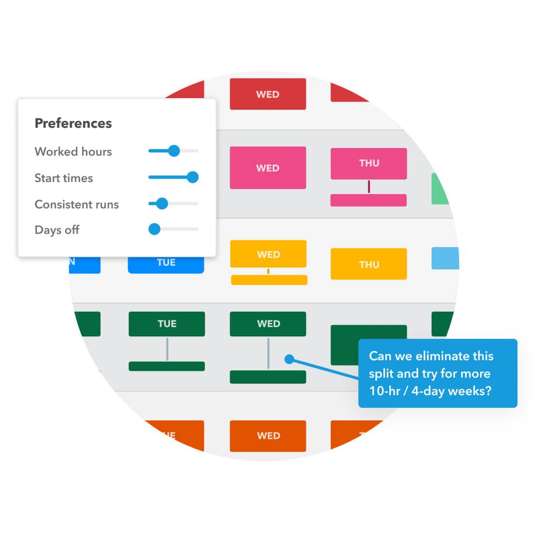 Remix Scheduling build trust