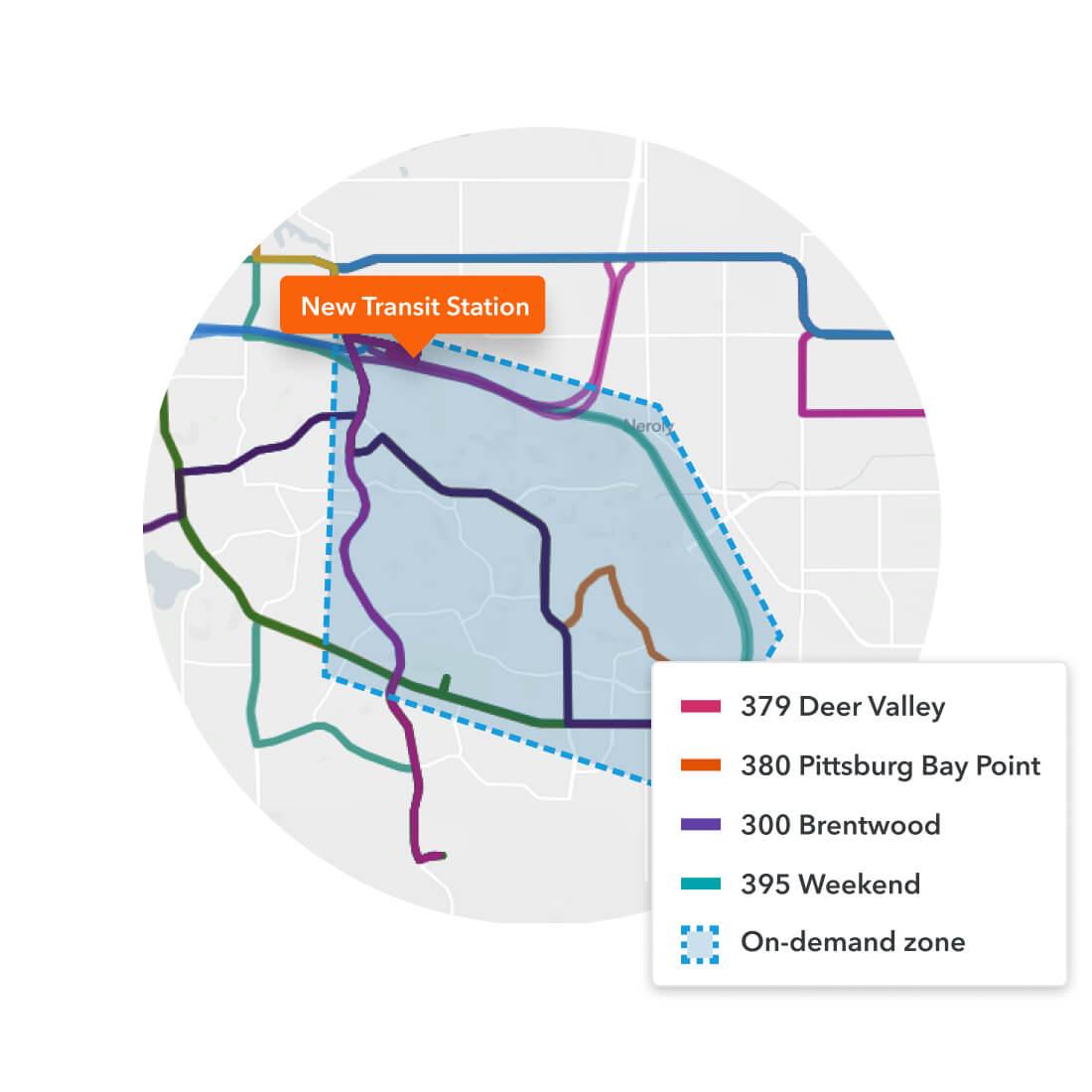 Remix Scheduling integrated transportation