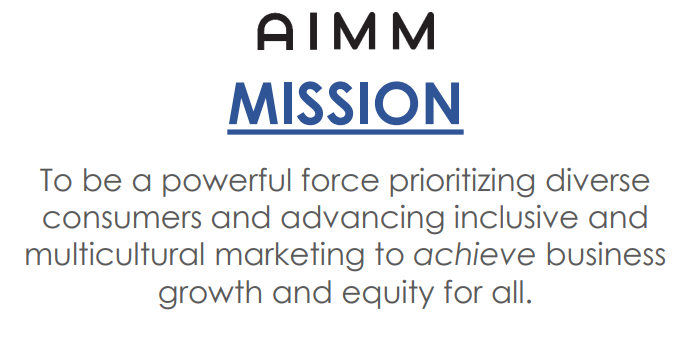 The AIMM Mission