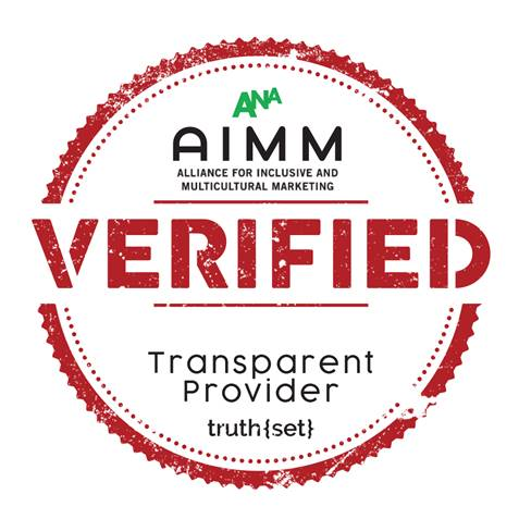 AIMM VERIFIED Transparent Provider logo