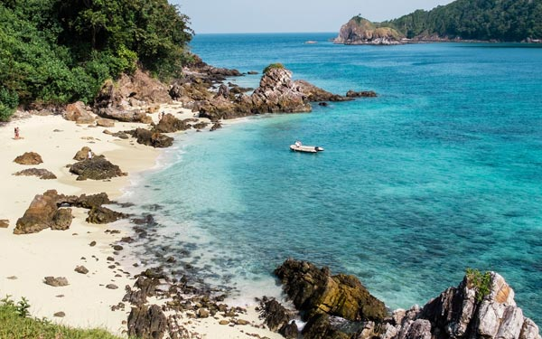 Penang, Phuket, Mergui Archipelago (Dream Cruise)*