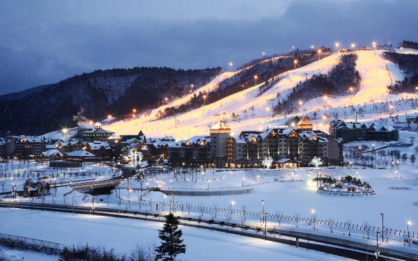 Dazzling Winter Fun In Korea + Ski Resort