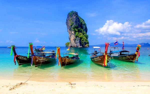 Krabi 4 Islands Hopping Tour