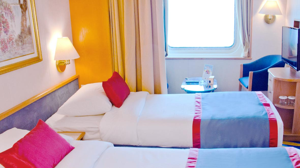 Oceanview Stateroom with Window