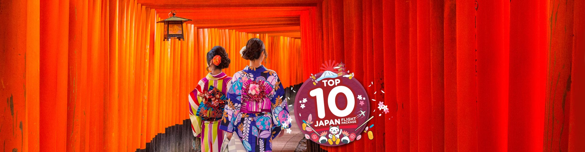 Top 10 Japan Flight Package from RM 3,999