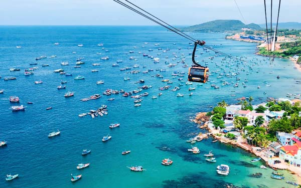 Phu Quoc  + Island Hopping + Vinepearl