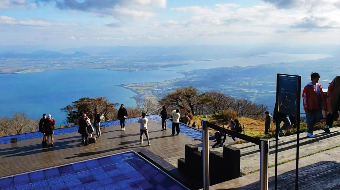 Lake Biwa Observation Deck